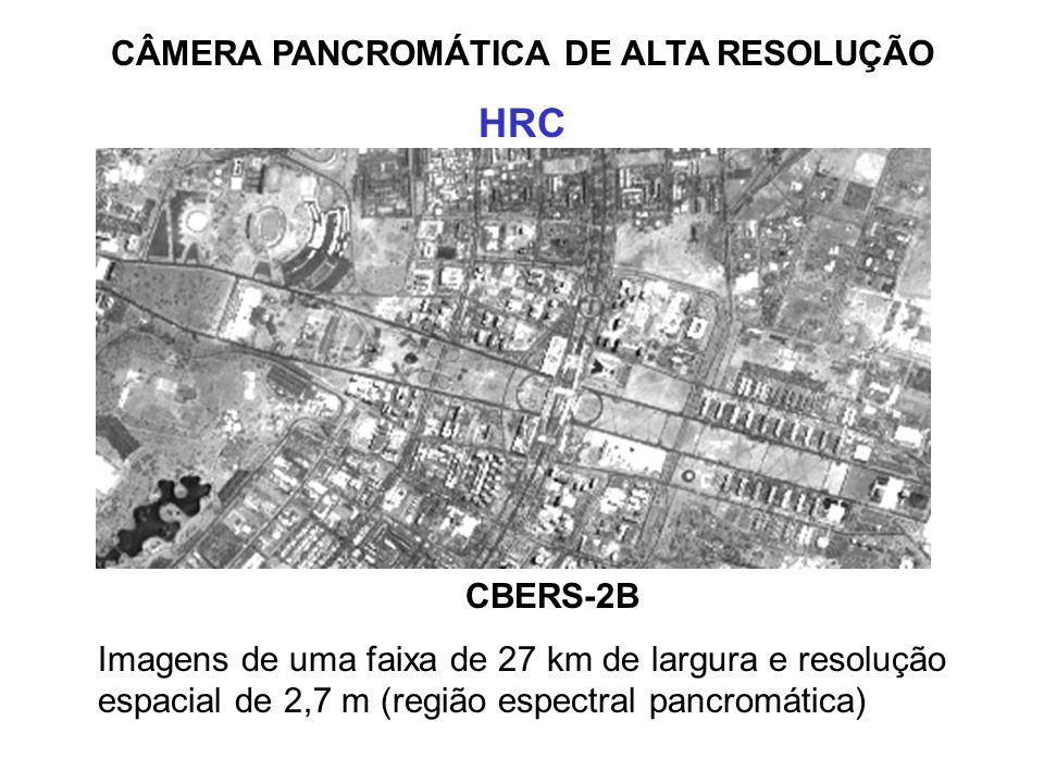 CÂMERA PANCROMÁTICA DE ALTA RESOLUÇÃO
