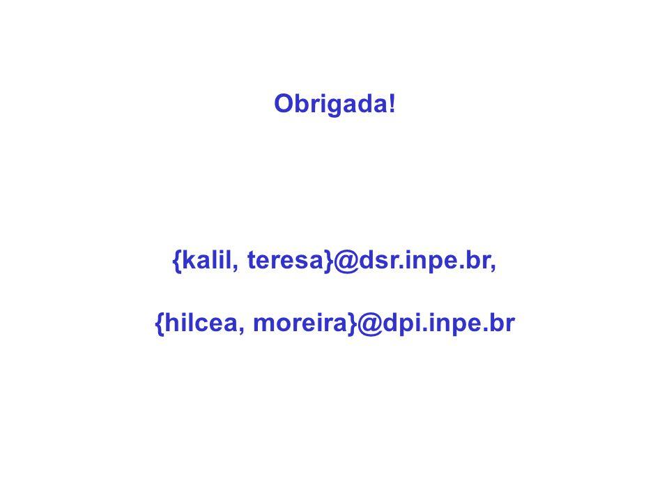 {kalil, teresa}@dsr.inpe.br, {hilcea, moreira}@dpi.inpe.br