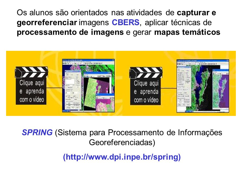 SPRING (Sistema para Processamento de Informações Georeferenciadas)