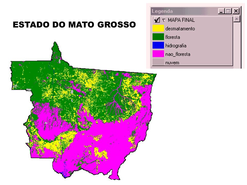 ESTADO DO MATO GROSSO