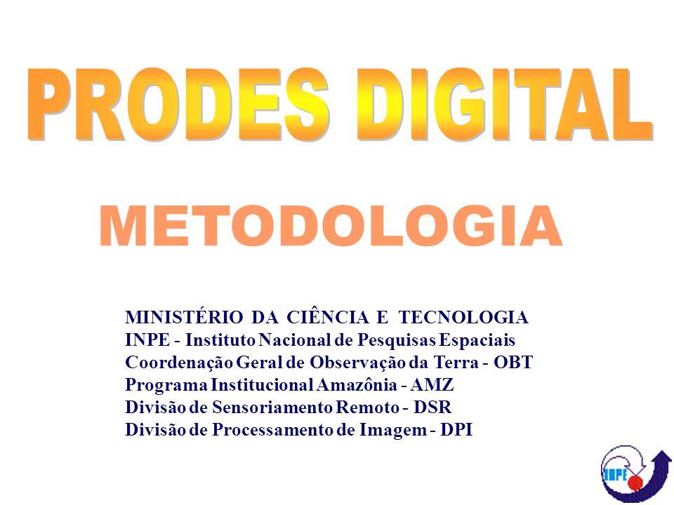 METODOLOGIA MINISTÉRIO DA CIÊNCIA E TECNOLOGIA