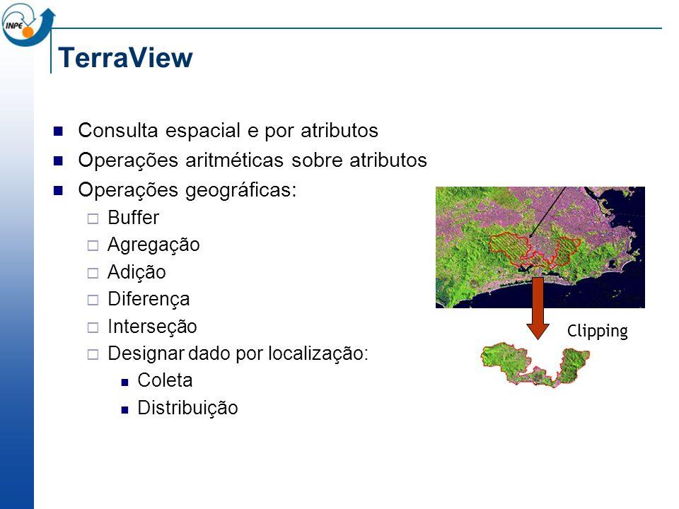 TerraView Consulta espacial e por atributos