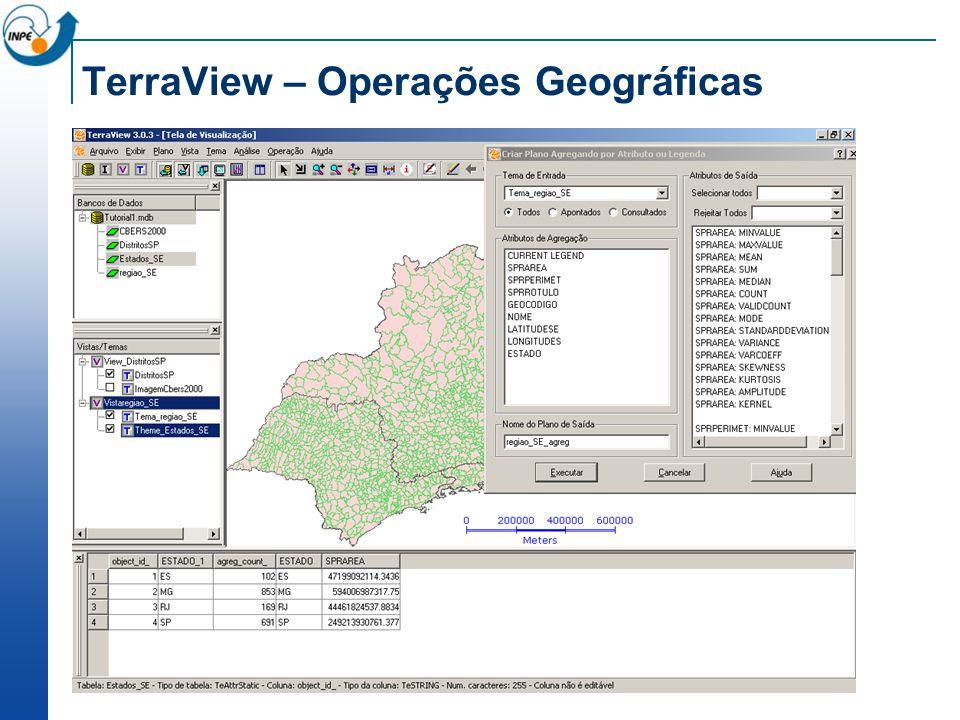 TerraView – Operações Geográficas