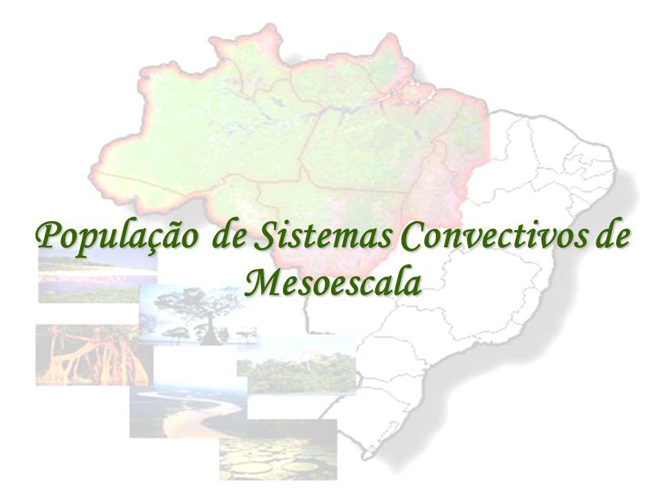 População de Sistemas Convectivos de Mesoescala