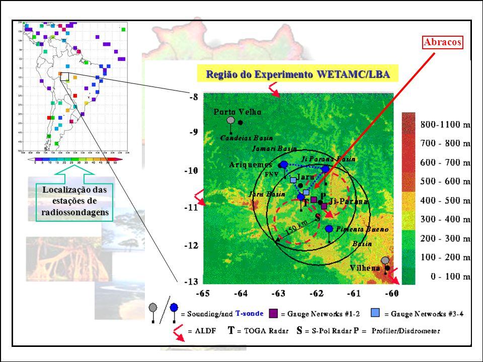 Região do Experimento WETAMC/LBA
