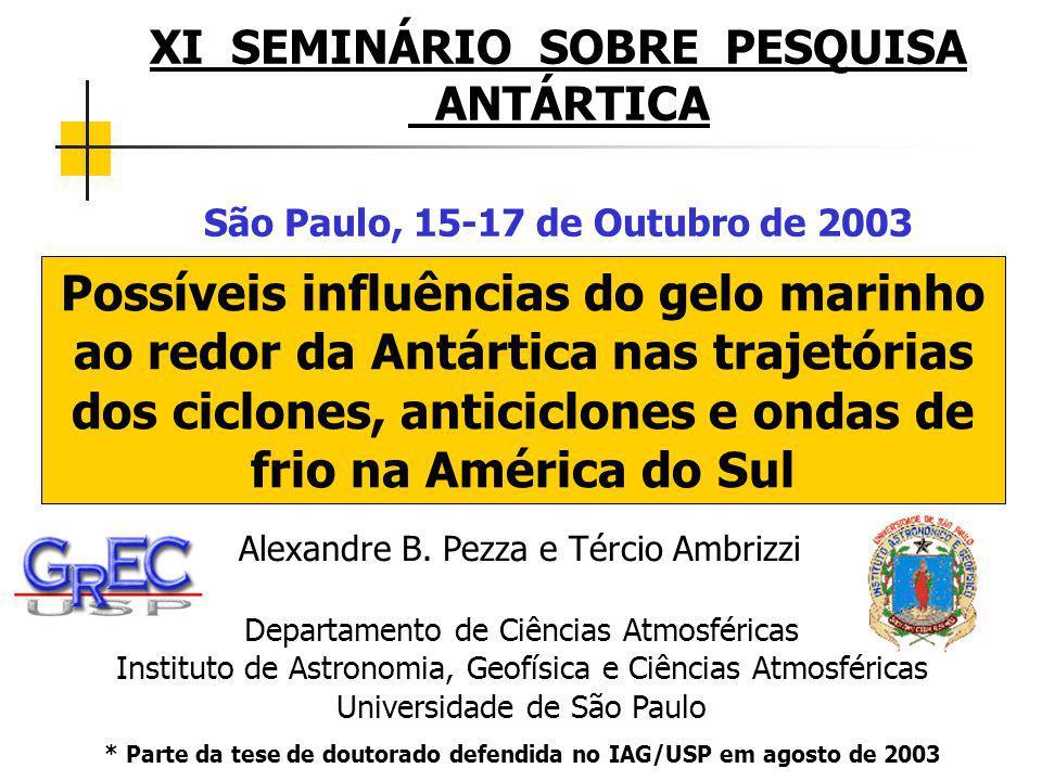 * Parte da tese de doutorado defendida no IAG/USP em agosto de 2003