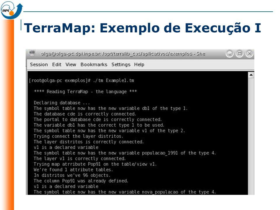 TerraMap: Exemplo de Execução I