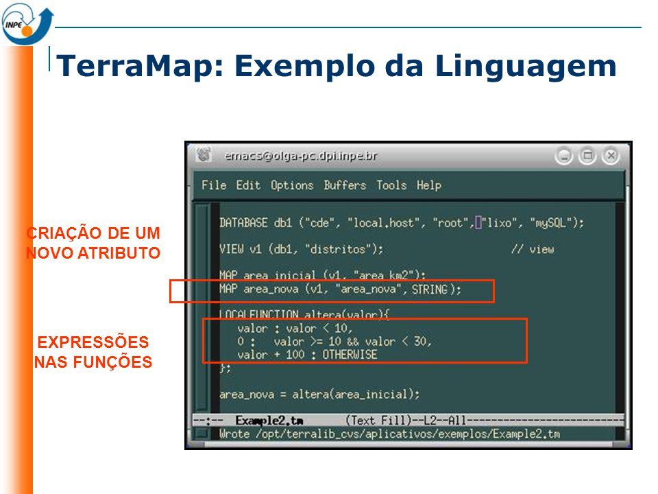 TerraMap: Exemplo da Linguagem