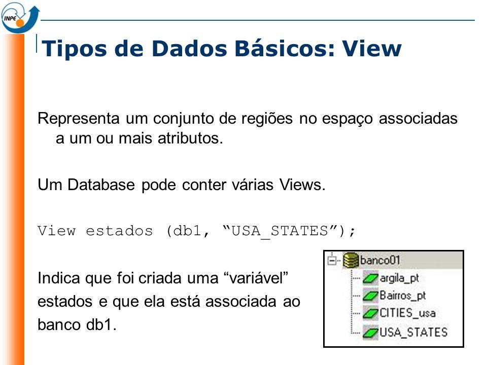 Tipos de Dados Básicos: View