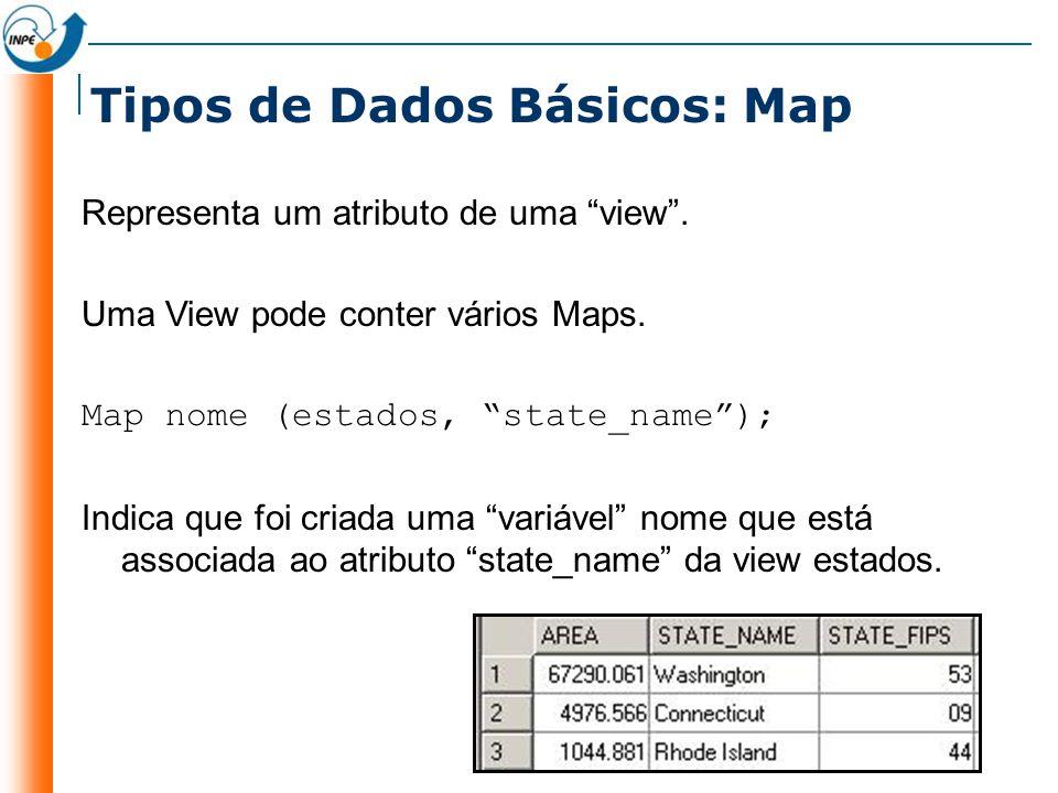 Tipos de Dados Básicos: Map