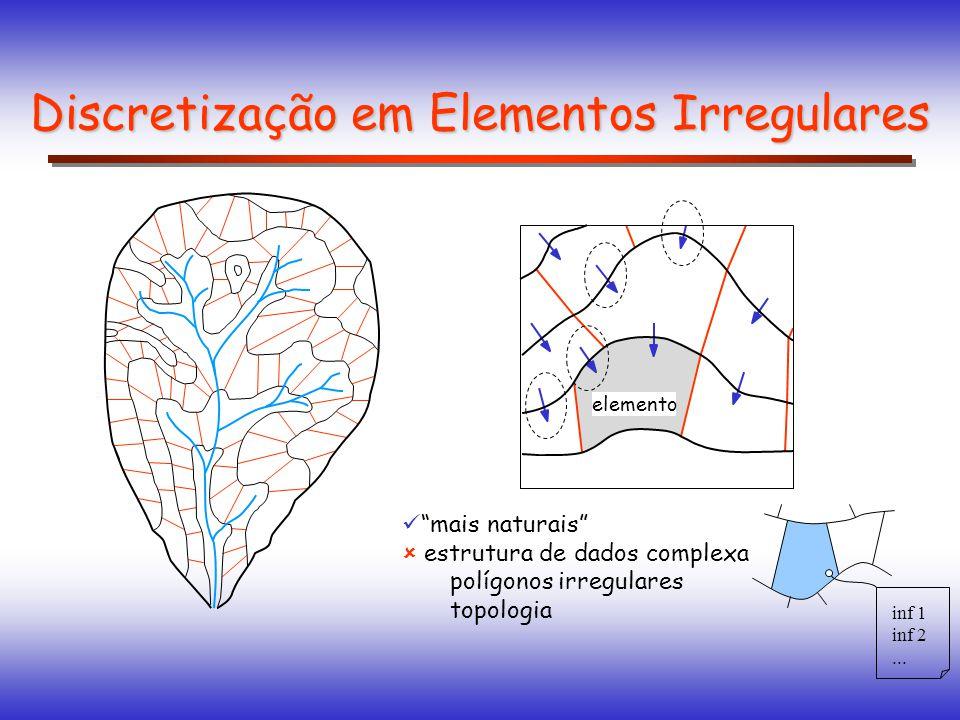 Discretização em Elementos Irregulares