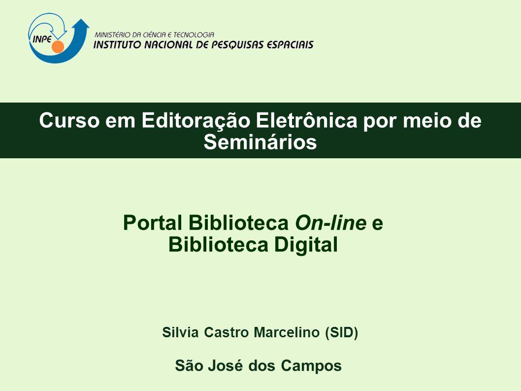 Curso em Editoração Eletrônica por meio de Seminários