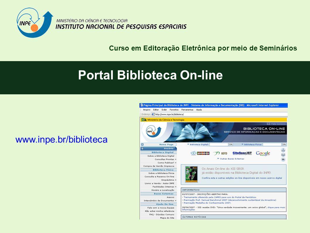 Portal Biblioteca On-line
