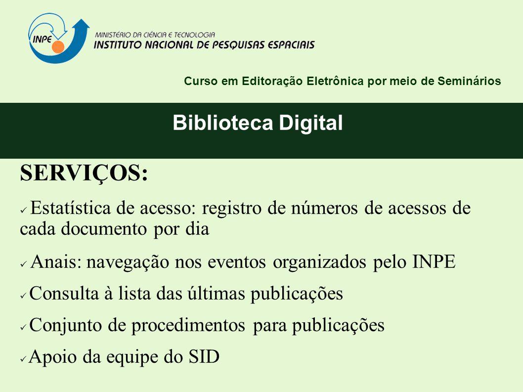 SERVIÇOS: Biblioteca Digital