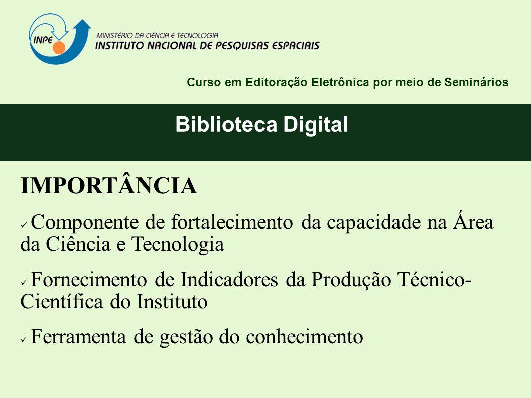 IMPORTÂNCIA Biblioteca Digital