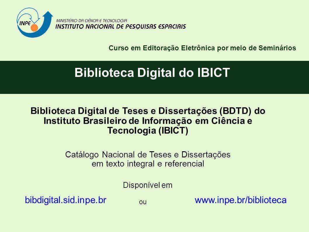 Biblioteca Digital do IBICT