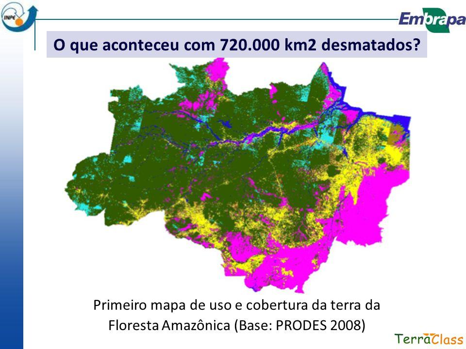 O que aconteceu com 720.000 km2 desmatados