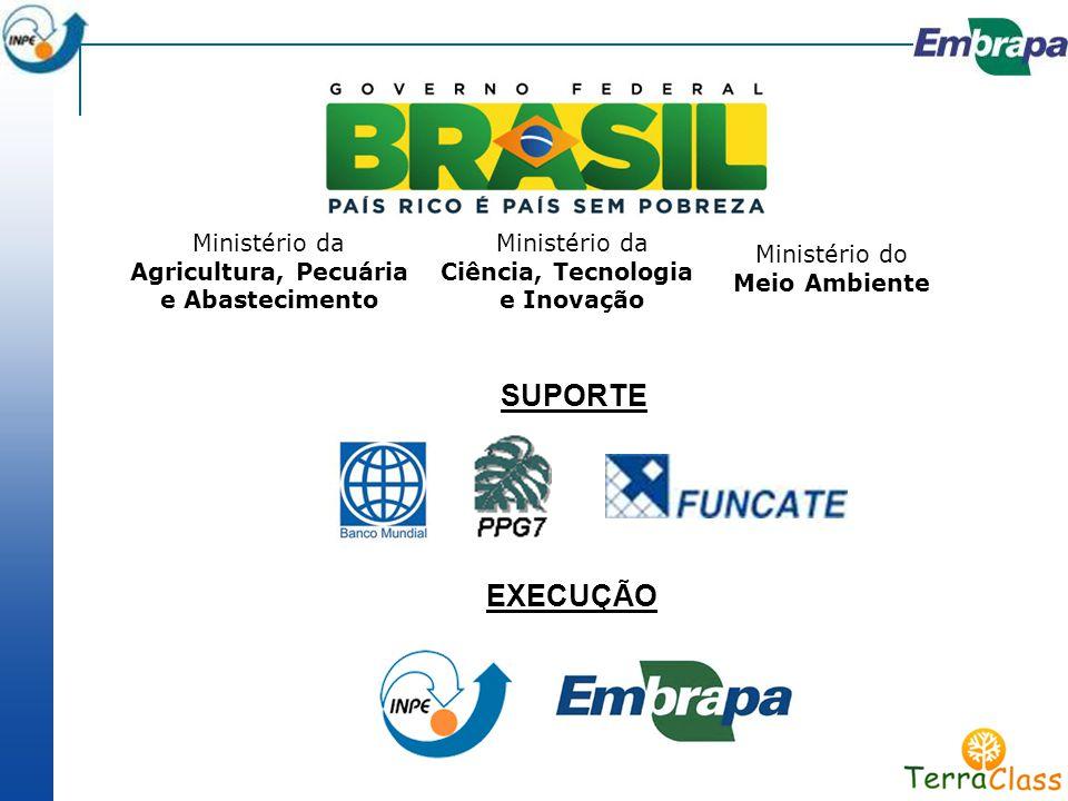 SUPORTE EXECUÇÃO Ministério da Agricultura, Pecuária e Abastecimento
