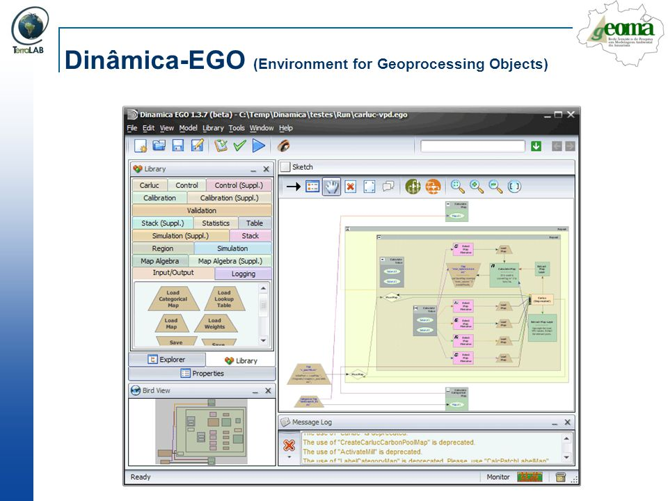 Dinâmica-EGO (Environment for Geoprocessing Objects)