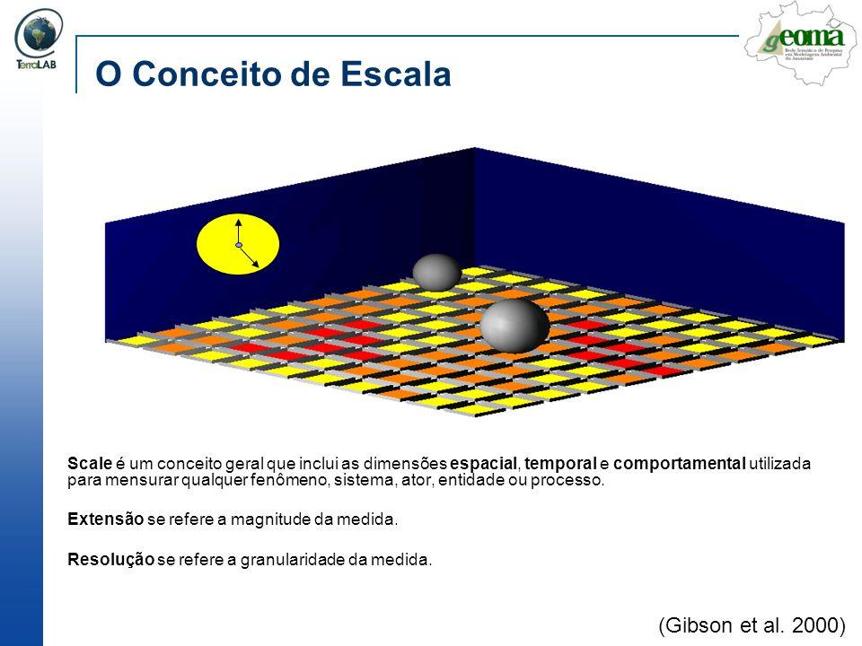 O Conceito de Escala (Gibson et al. 2000)