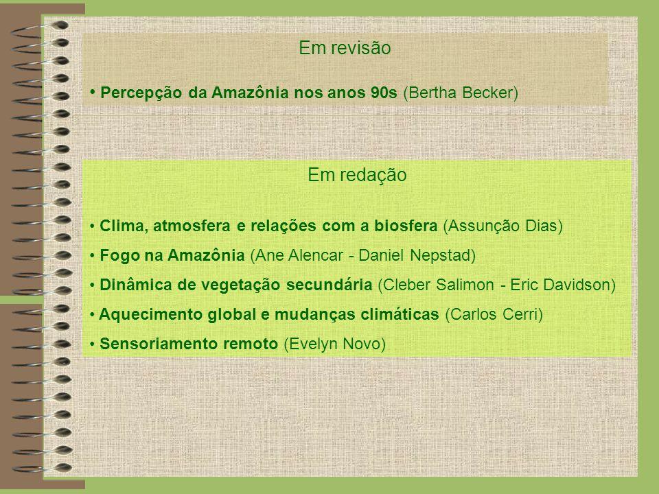 Percepção da Amazônia nos anos 90s (Bertha Becker)