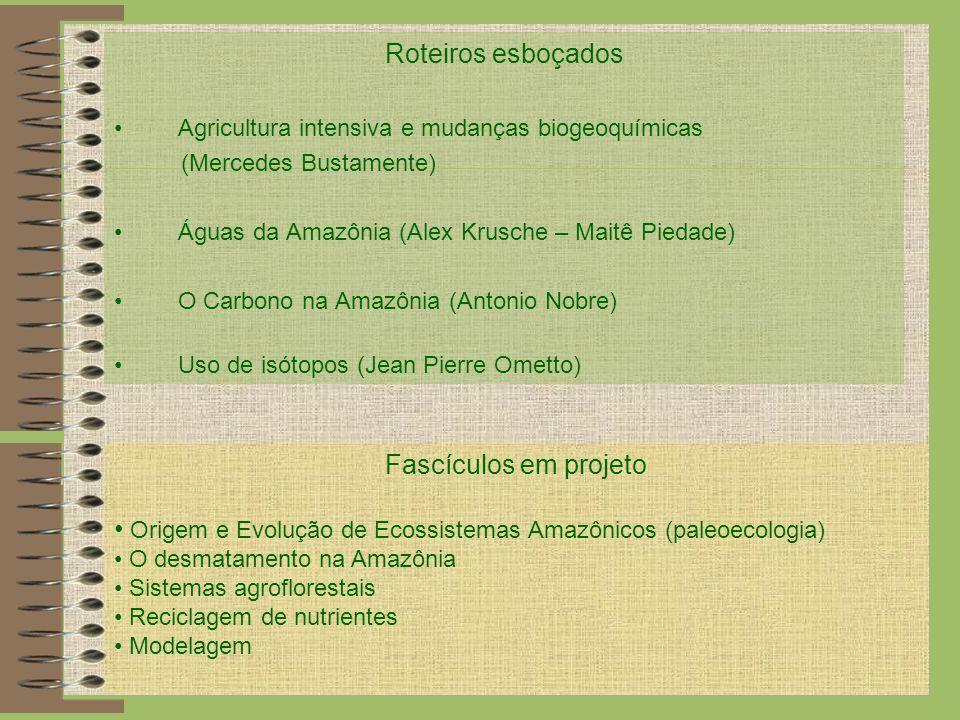 Origem e Evolução de Ecossistemas Amazônicos (paleoecologia)