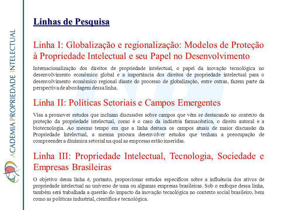 Linha II: Políticas Setoriais e Campos Emergentes