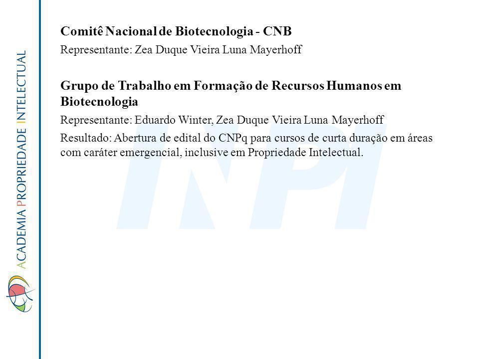 Comitê Nacional de Biotecnologia - CNB
