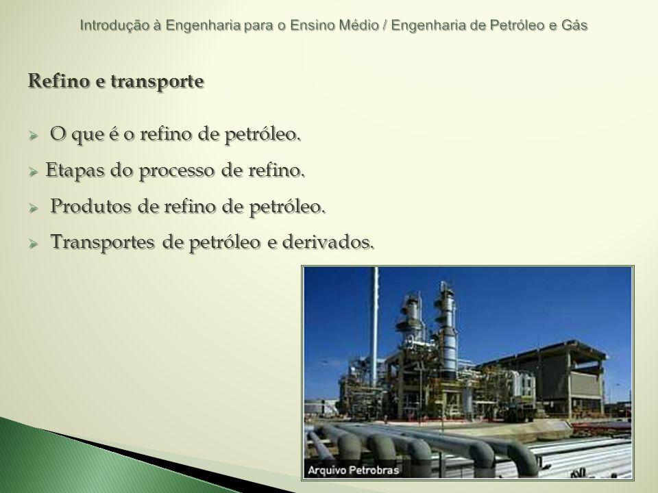 O que é o refino de petróleo. Etapas do processo de refino.