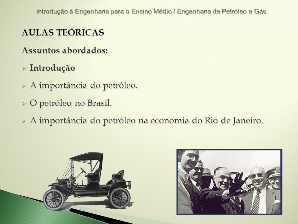 A importância do petróleo. O petróleo no Brasil.