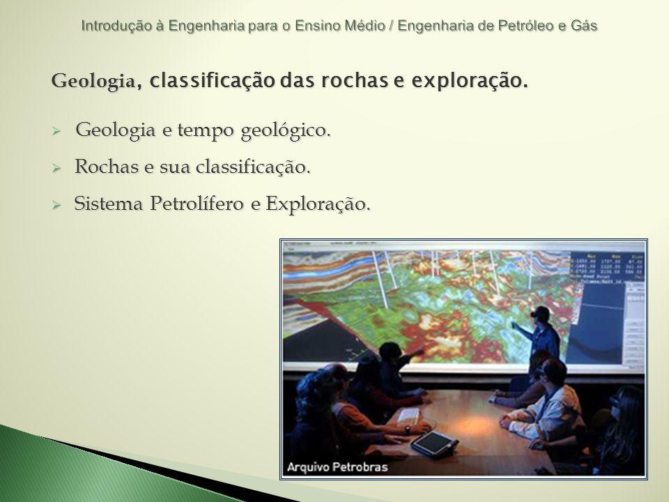 Geologia, classificação das rochas e exploração.
