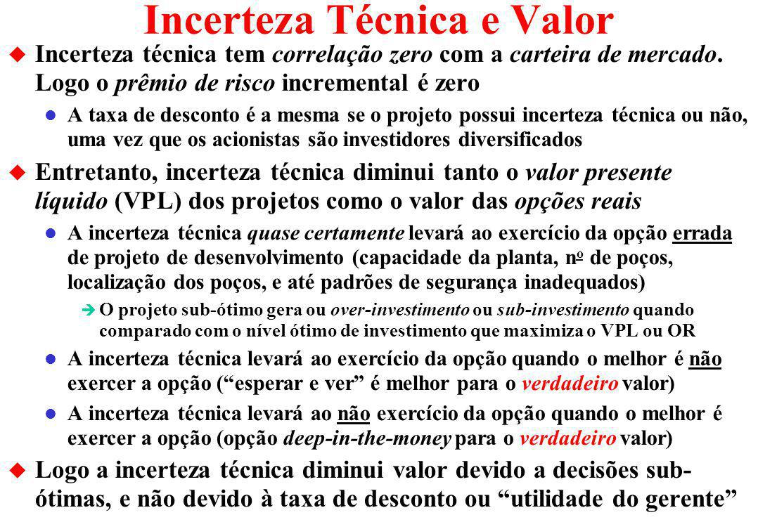Incerteza Técnica e Valor