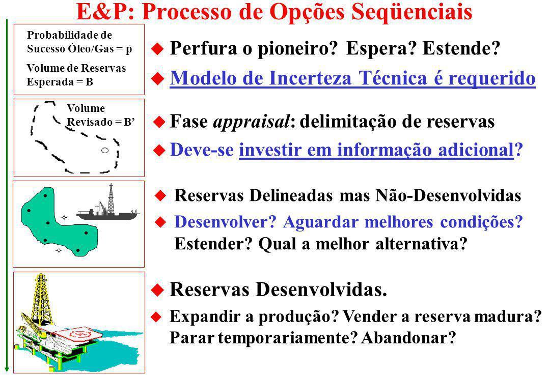 E&P: Processo de Opções Seqüenciais