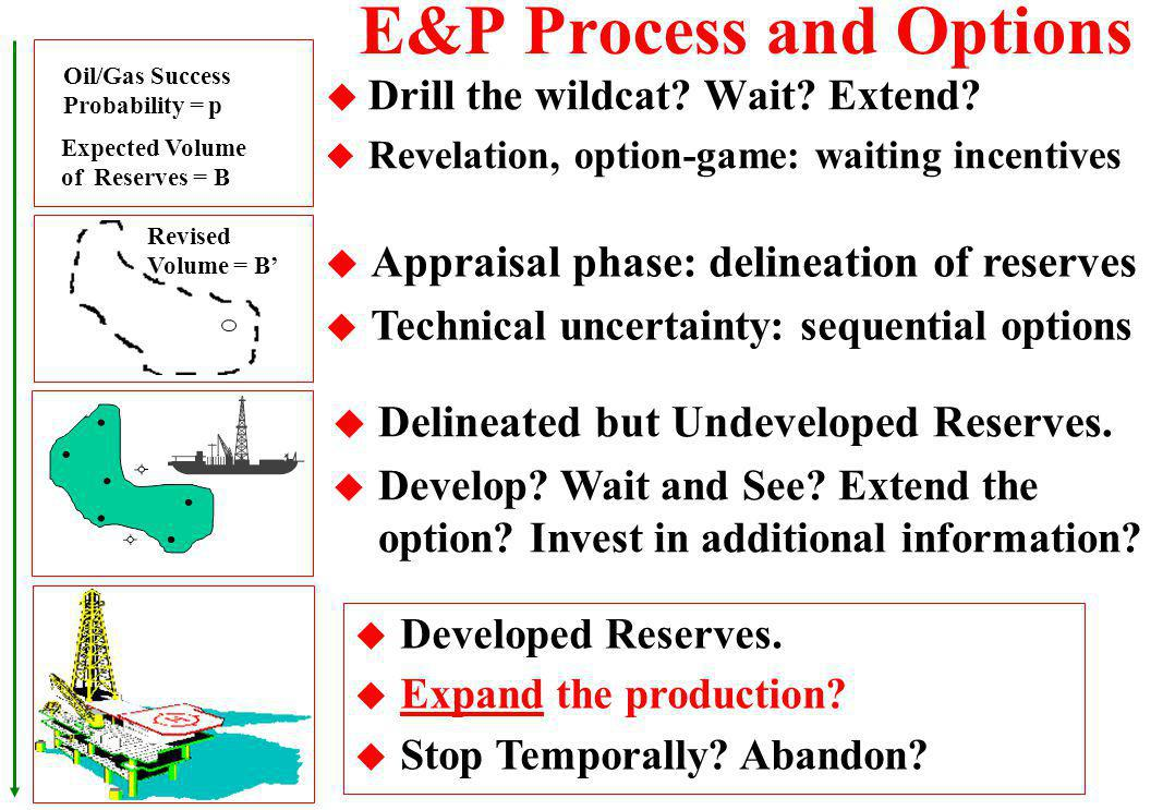 E&P Process and Options