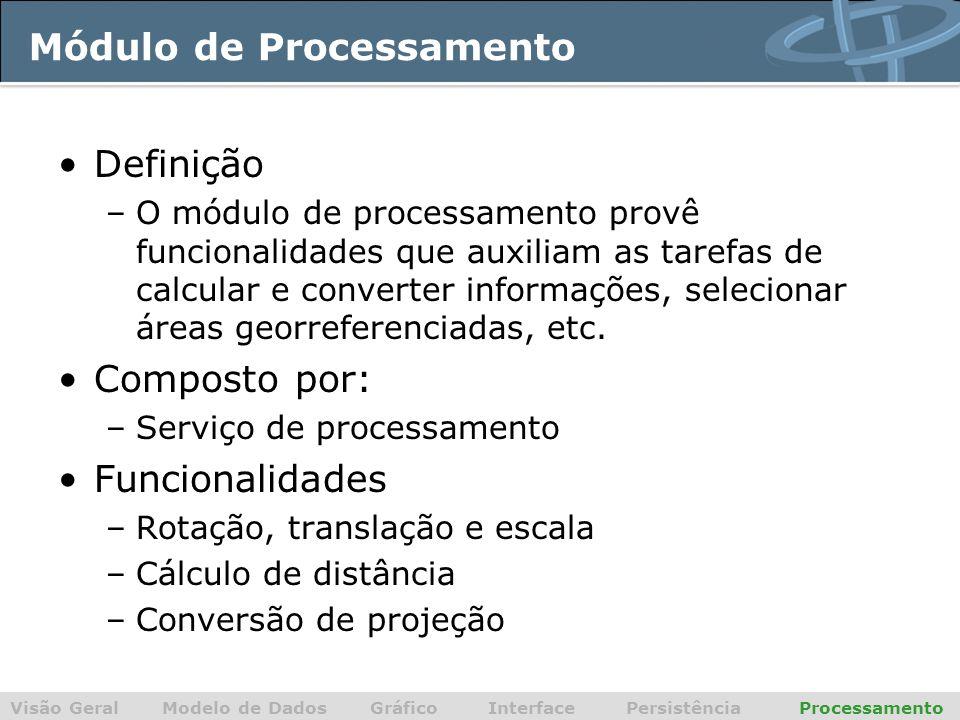 Módulo de Processamento