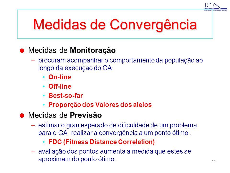 Medidas de Convergência
