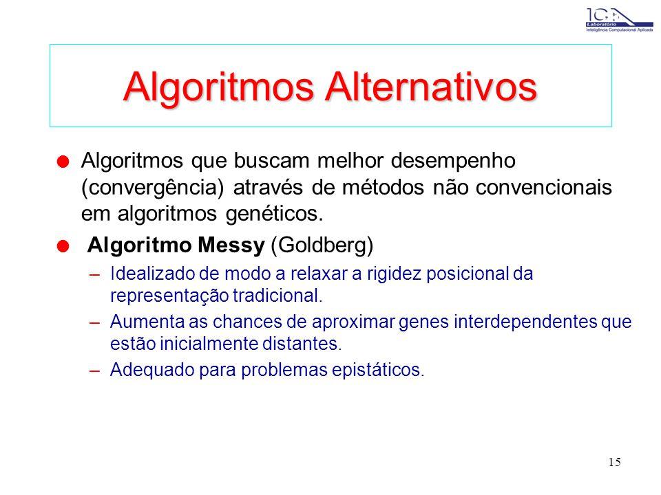 Algoritmos Alternativos