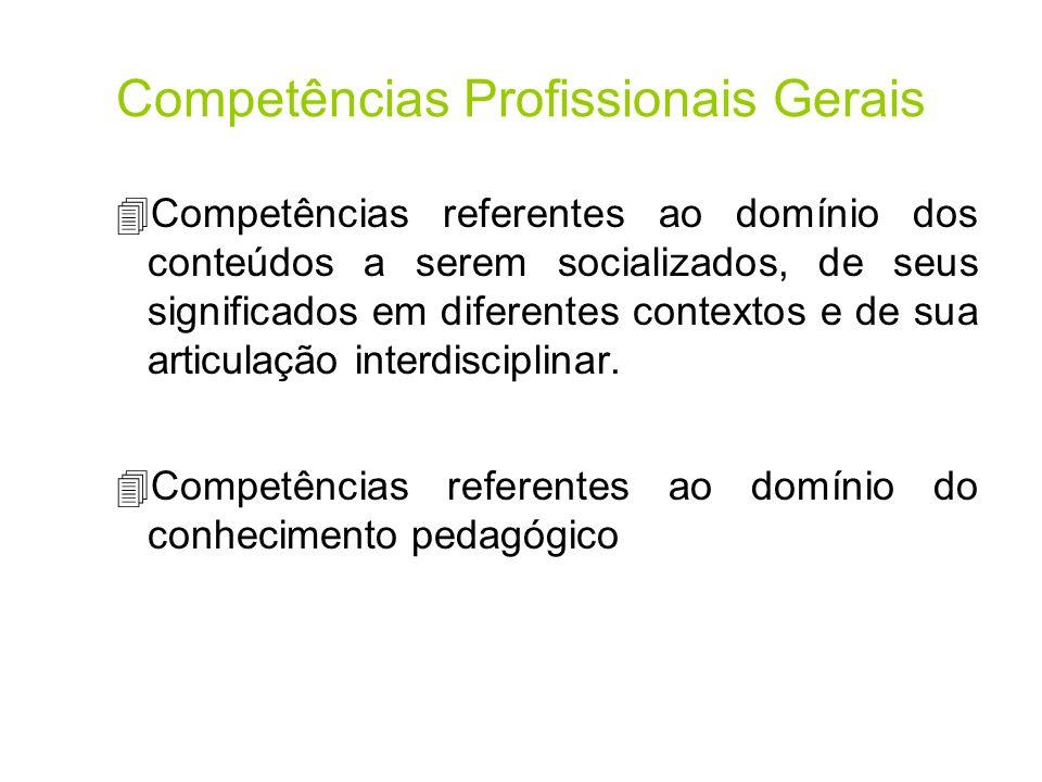 Competências Profissionais Gerais