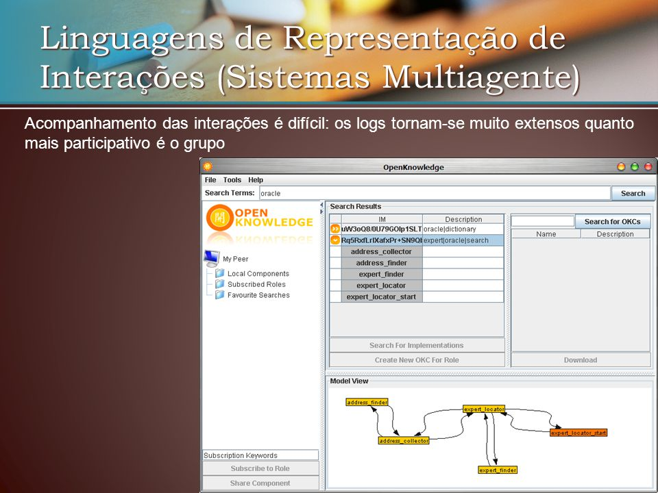 Linguagens de Representação de Interações (Sistemas Multiagente)