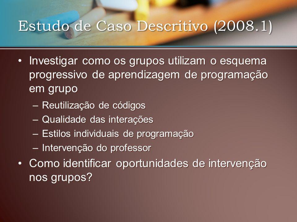 Estudo de Caso Descritivo (2008.1)