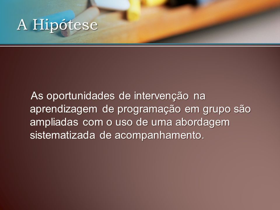 A Hipótese