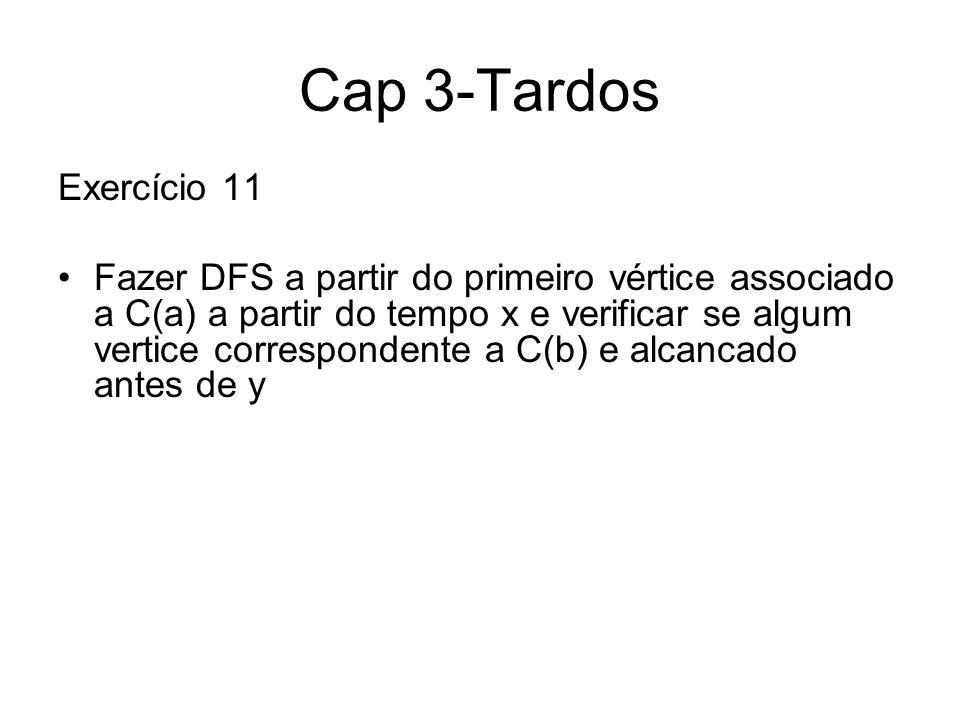 Cap 3-Tardos Exercício 11.