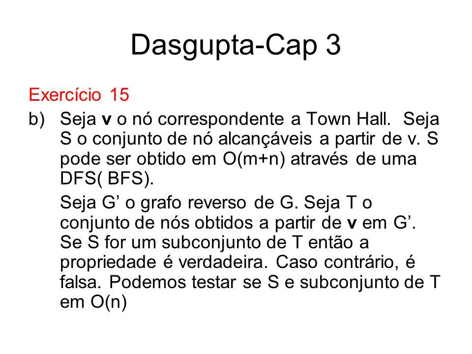 Dasgupta-Cap 3 Exercício 15