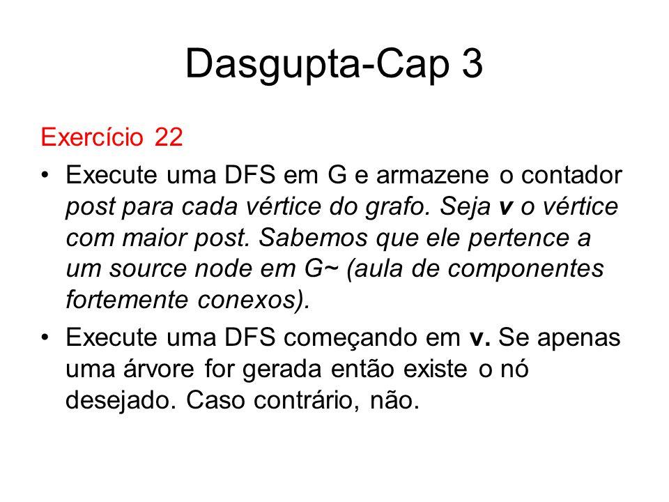 Dasgupta-Cap 3 Exercício 22