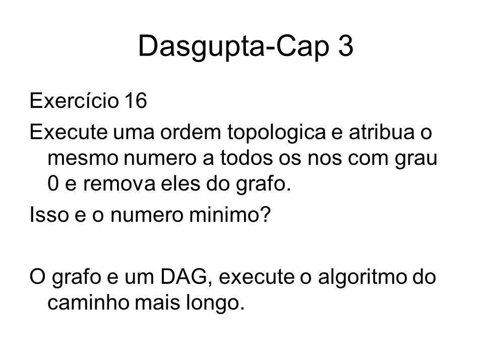 Dasgupta-Cap 3 Exercício 16