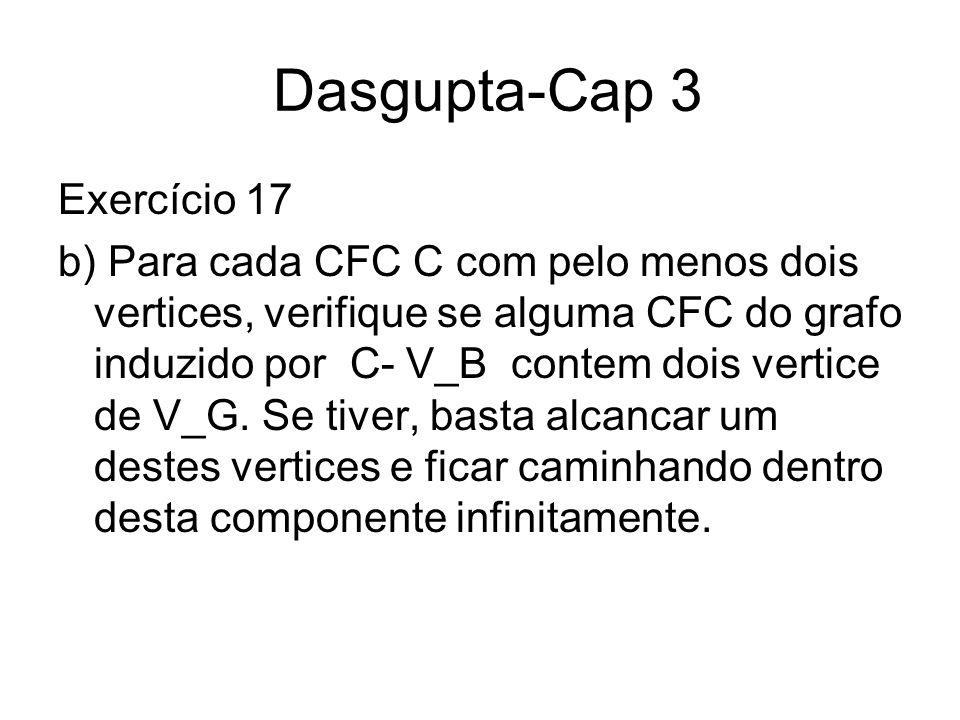 Dasgupta-Cap 3 Exercício 17