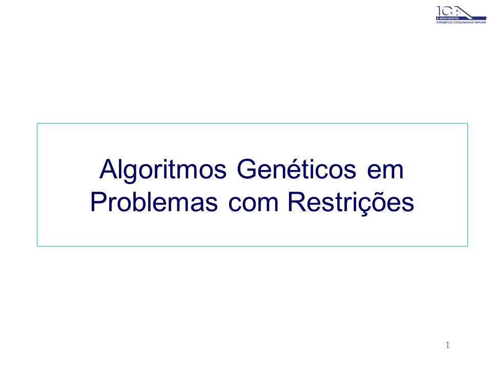 Algoritmos Genéticos em Problemas com Restrições