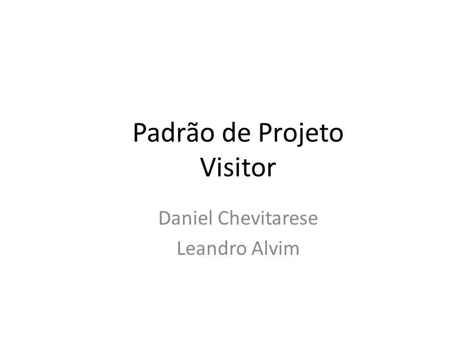 Padrão de Projeto Visitor