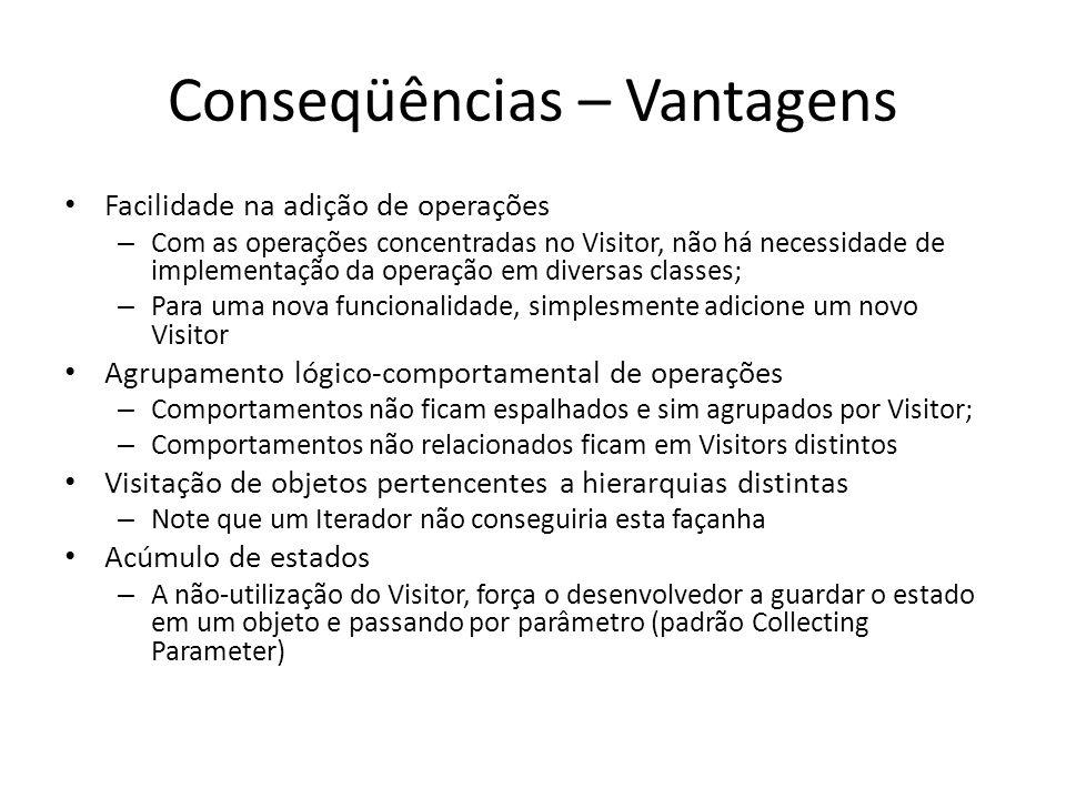 Conseqüências – Vantagens