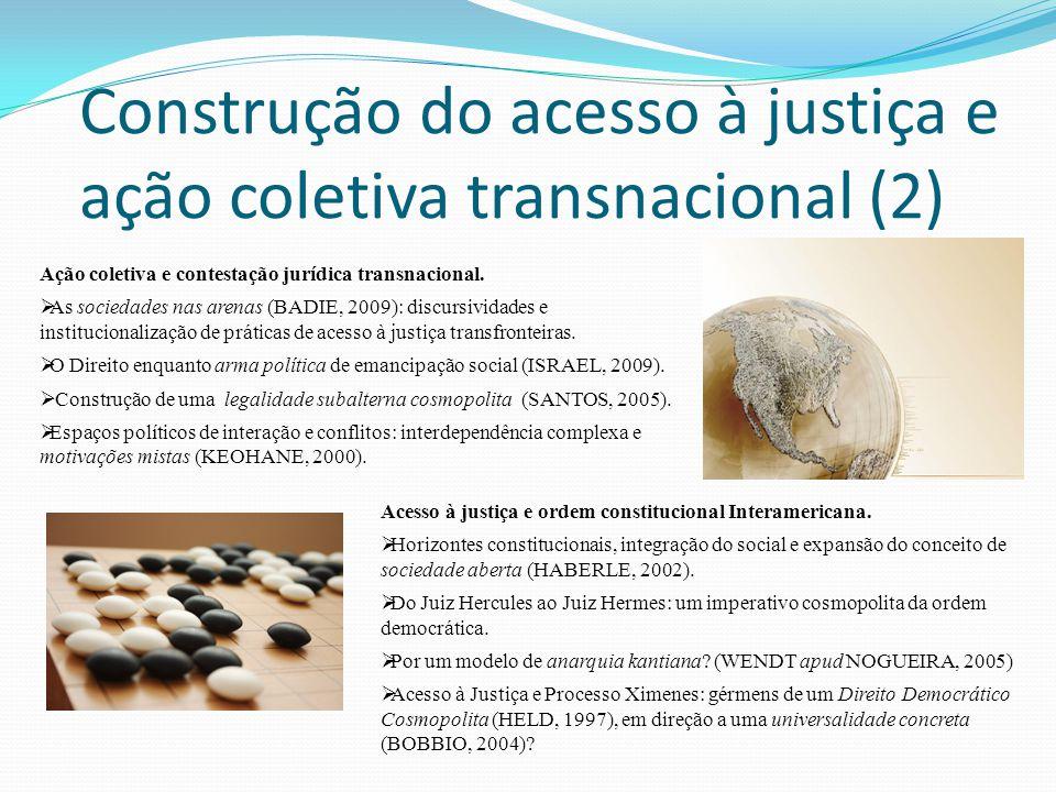 Construção do acesso à justiça e ação coletiva transnacional (2)